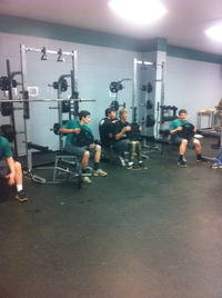 Bulldogs in the Weight Room
